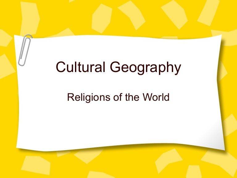 Identifying The Five Major Religions Of The World Classroom - Five major religions