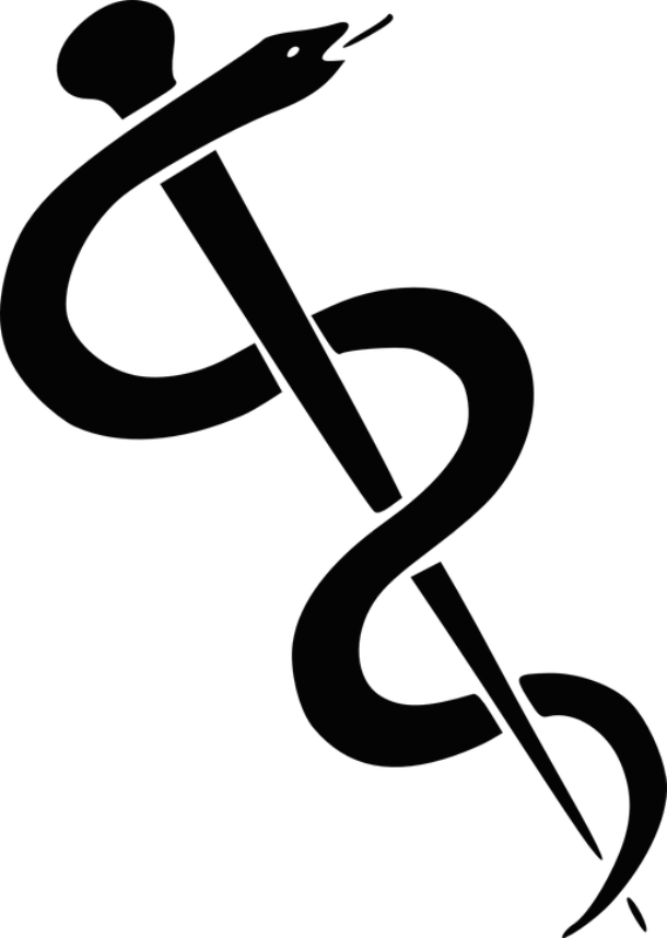 The Rod Of Asclepius Is A Symbol Associated With Medicine And Health