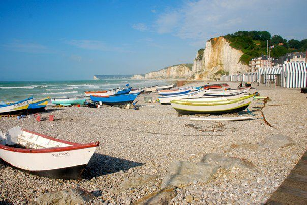 Yport Normandie Normandie Normandy France Et Beach