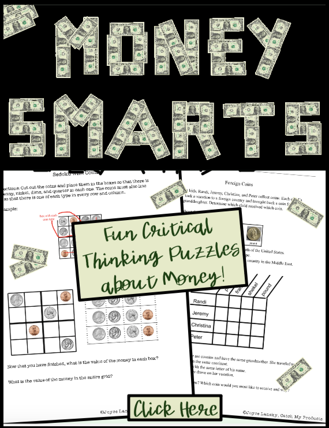 Money Worksheets Games And Puzzles To Engage Ted And