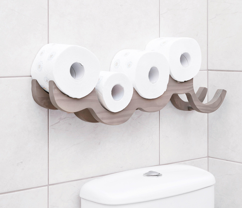 Holz Wolke Wc Roll Halter Regal Wand Montiert Toilettenrolle Lagerung Wc Rolle Cloud Regal Ist Aus Holz Einzigartig Und Praktisch Toilet Roll Holder Shelf Toilet Roll Holder Bathroom Decor
