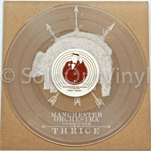 Thrice Mancester Orchestra Ft O Brother Split 12 Vinyl Lp Soldoutvinyl Orchestra Vinyl Records For Sale