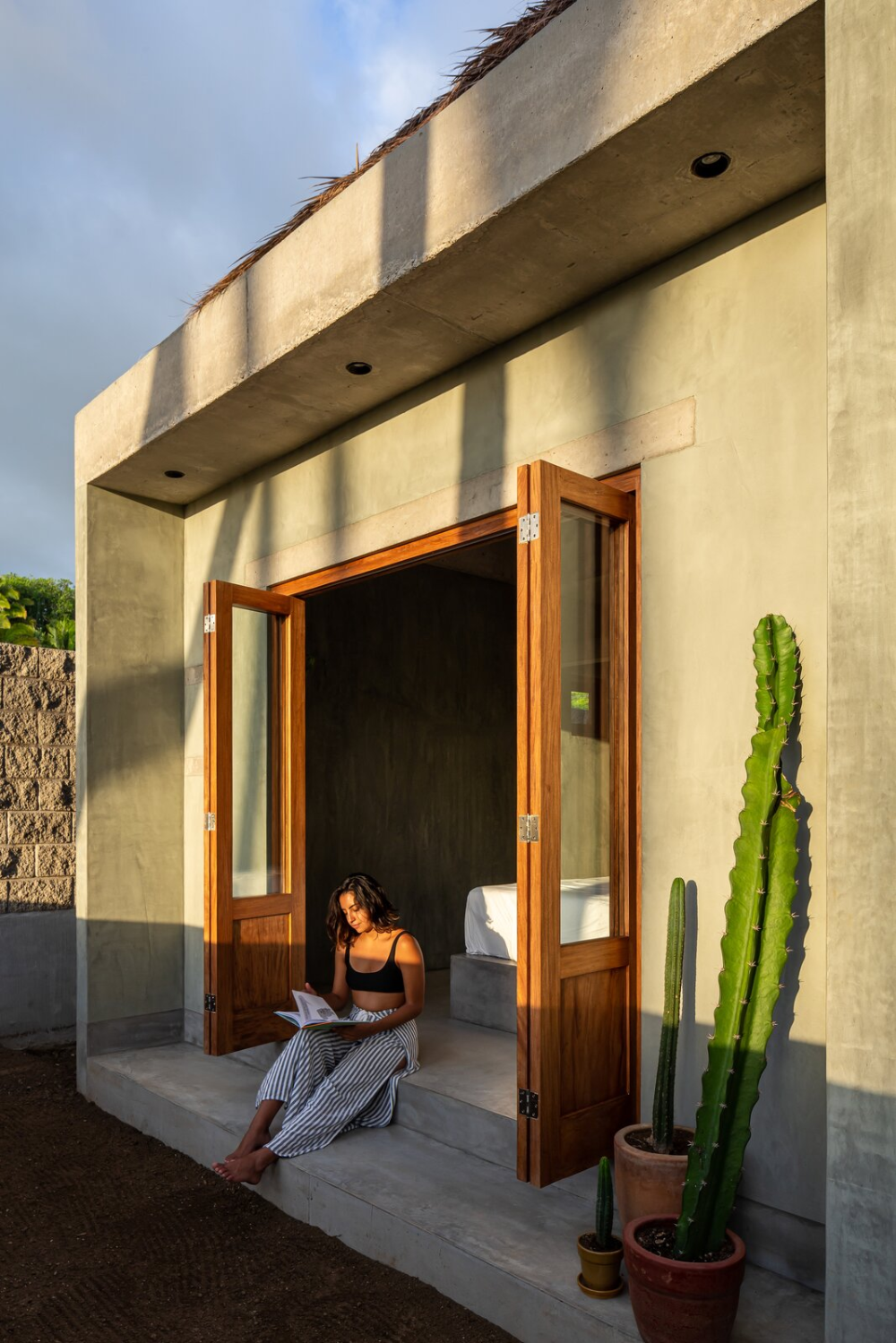 Photo 16 of 16 in A Tiny, Thatched-Roof Hideaway in Mexico P…