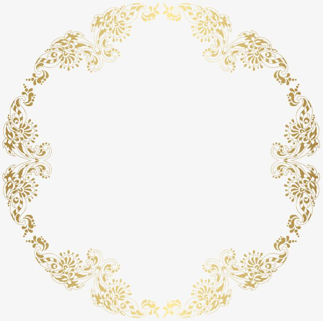 Round Floral French Border Png Pictures French Clipart Frame Round Border Png Transparent Clipart Image And Psd File For Free Download Free Clip Art Clip Art Clip Art Borders