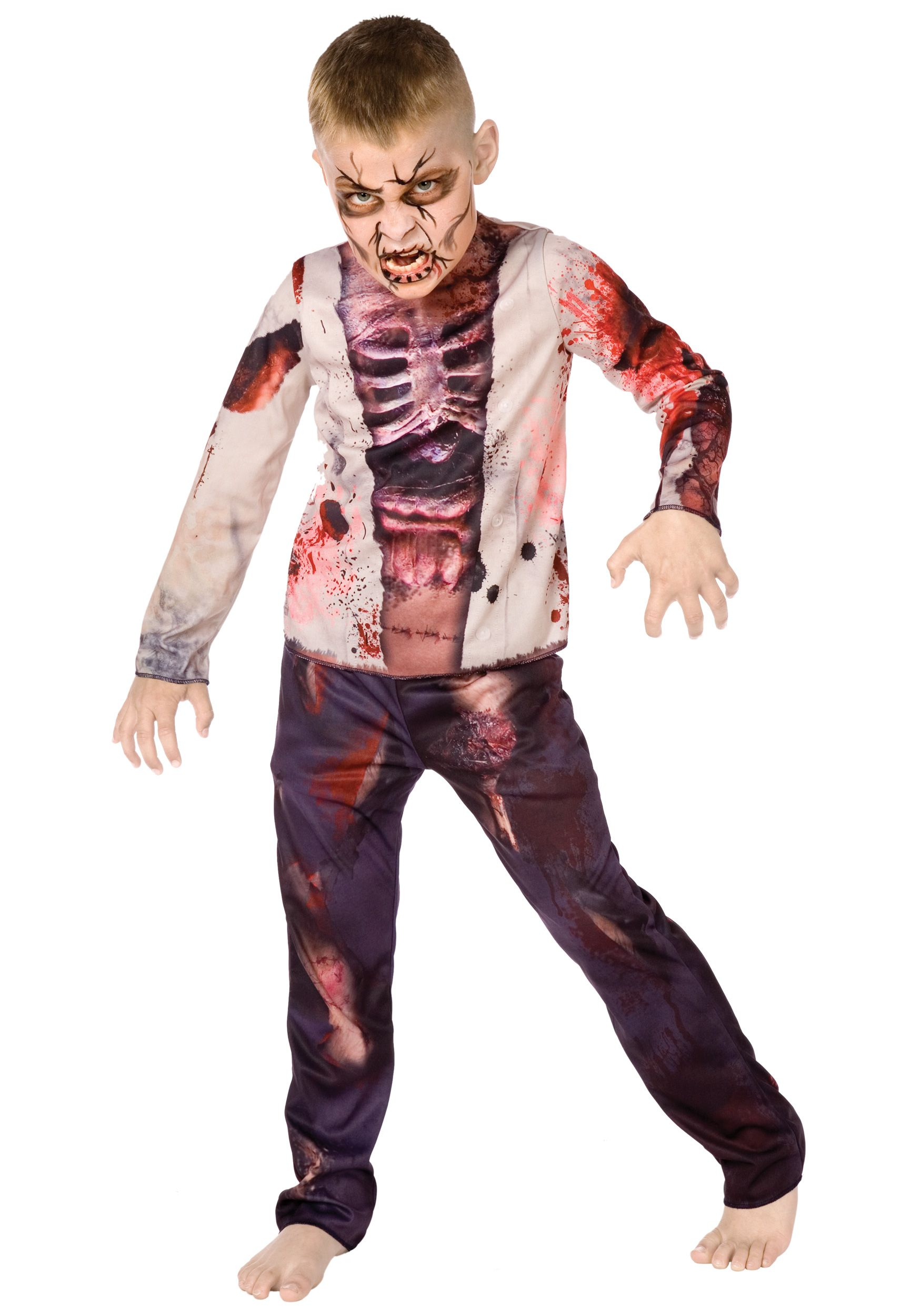 Boy Zombie Costume | Costumes, Scary kids costumes and Kids ...