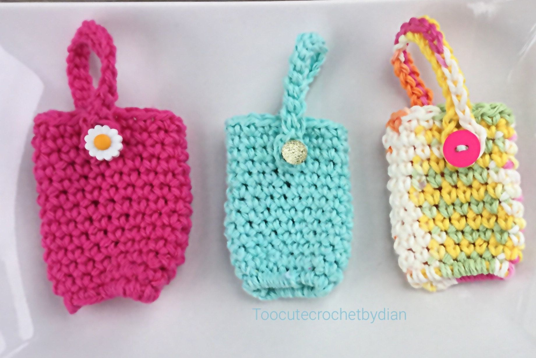 Crochet Hand Sanitizer Holder Hand Sanitizer Cozy Cozy For Your