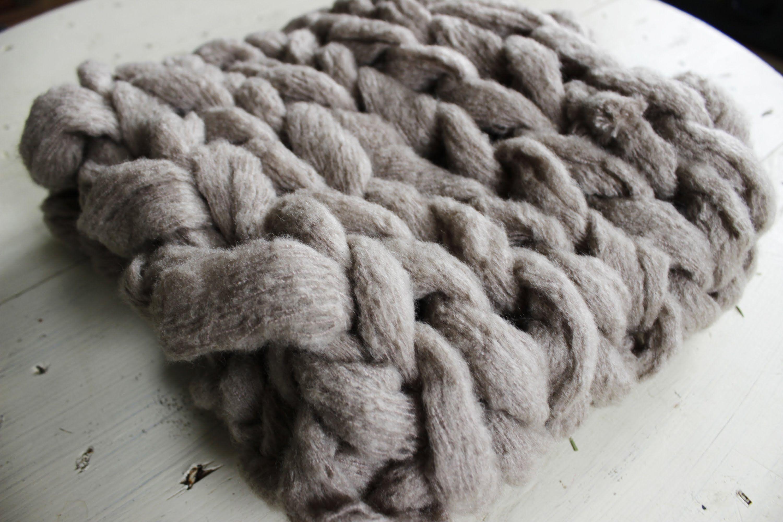 maxresdefault couverture tricoter avec les bras