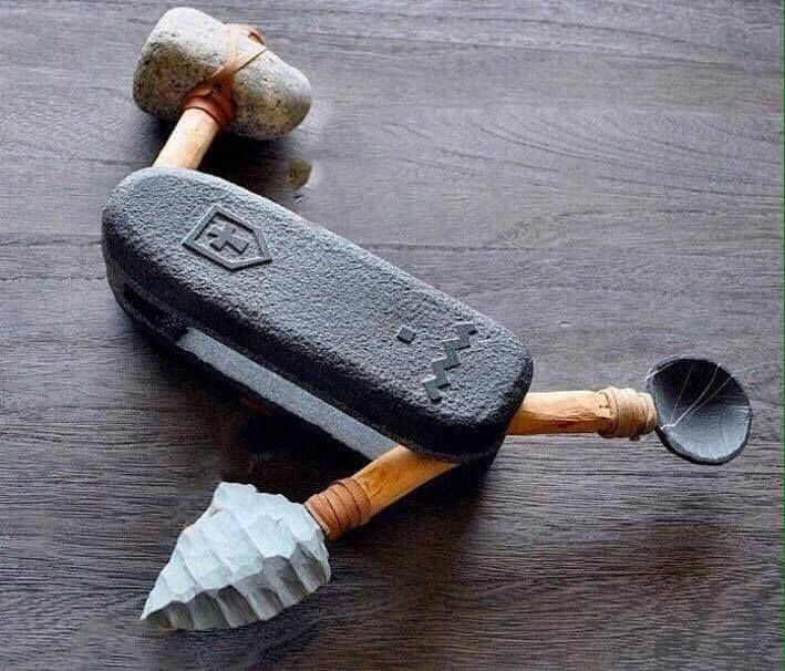 Mesolithic Swiss Army Knife