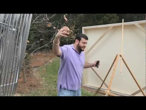 Prove It! Video -How does the Beauport Large Format Outdoor Easel stand up to high winds coming from different angles?