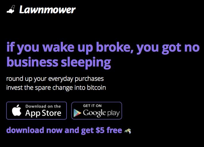 Lawnmower App 5 Bitcoin Bonus Bitcoin Currency Money Bitcoin Bitcoin Wallet Investing