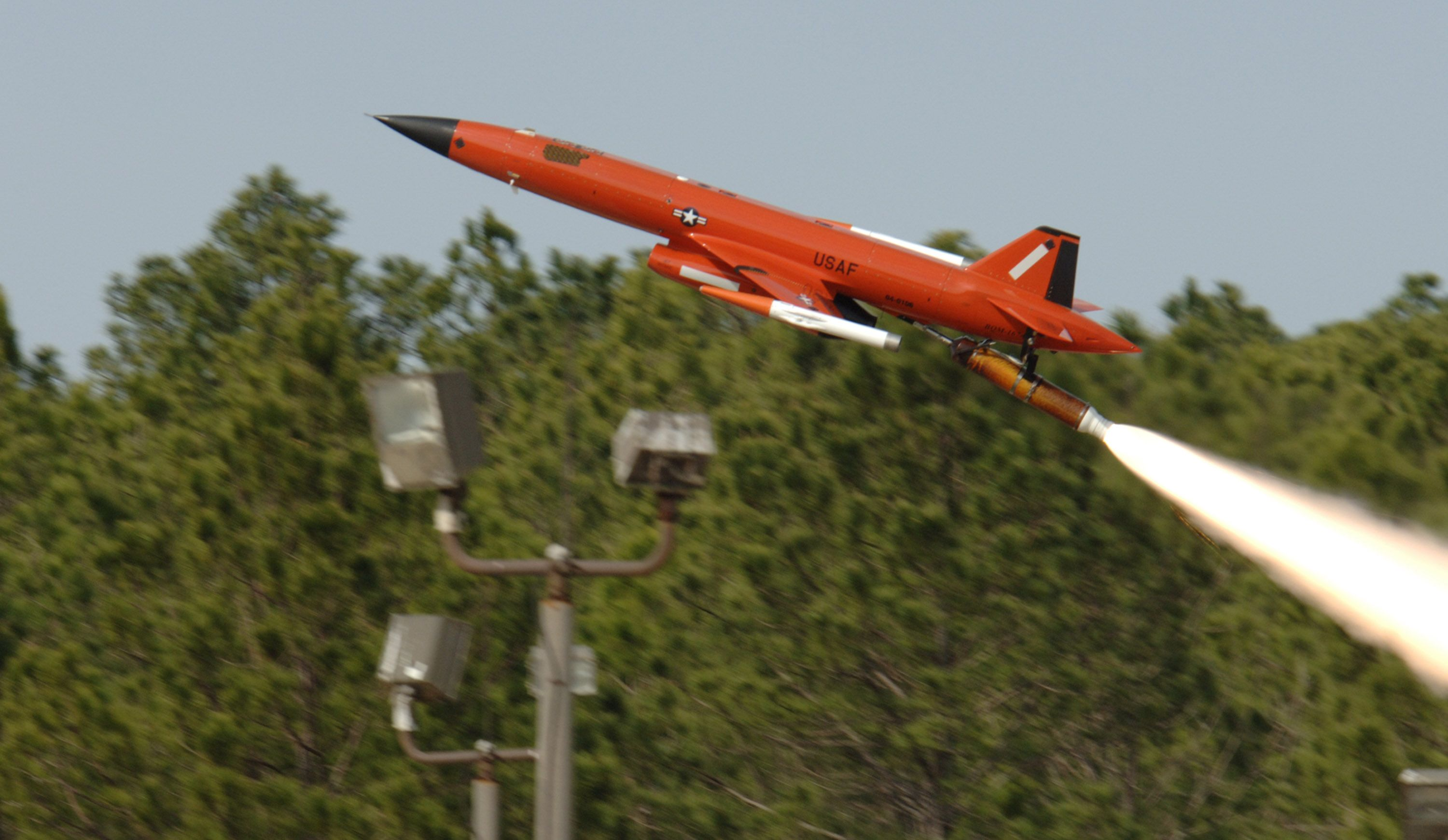 BQM-167A/i AERIAL TARGET SYSTEM high performance, subsonic aerial target system