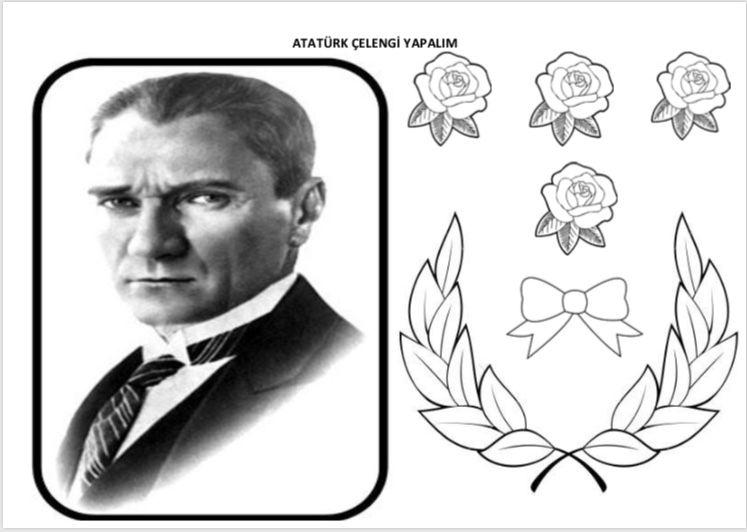 10 Kasim Calismasi Ataturk Celengi Yapiyoruz Cigdem Ogretmen Boyama Sayfalari Okul Faaliyetler