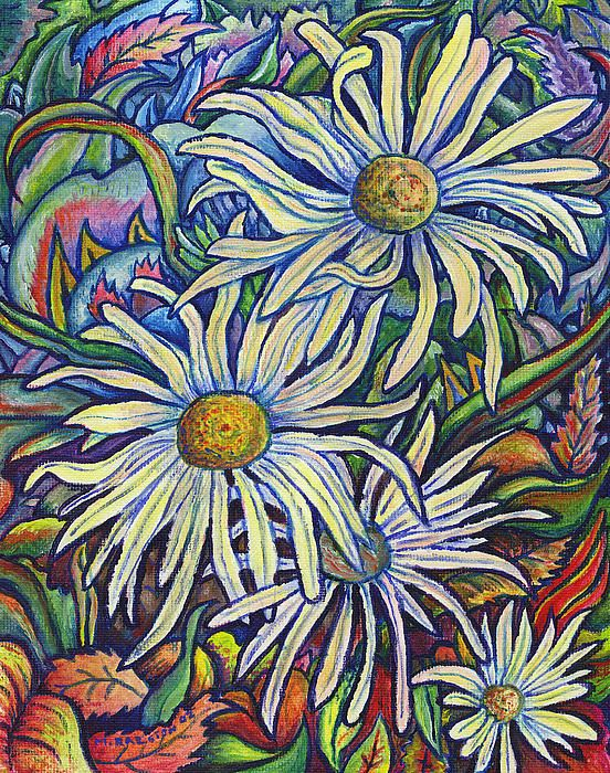 Wild Daisies - By Morgan Ralston, 2003.
