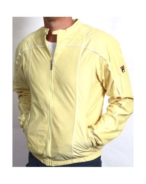 6f4ddae8 Fila Vintage Terrinda Mk3 Track Top Yellow | Jackets | Fila vintage ...