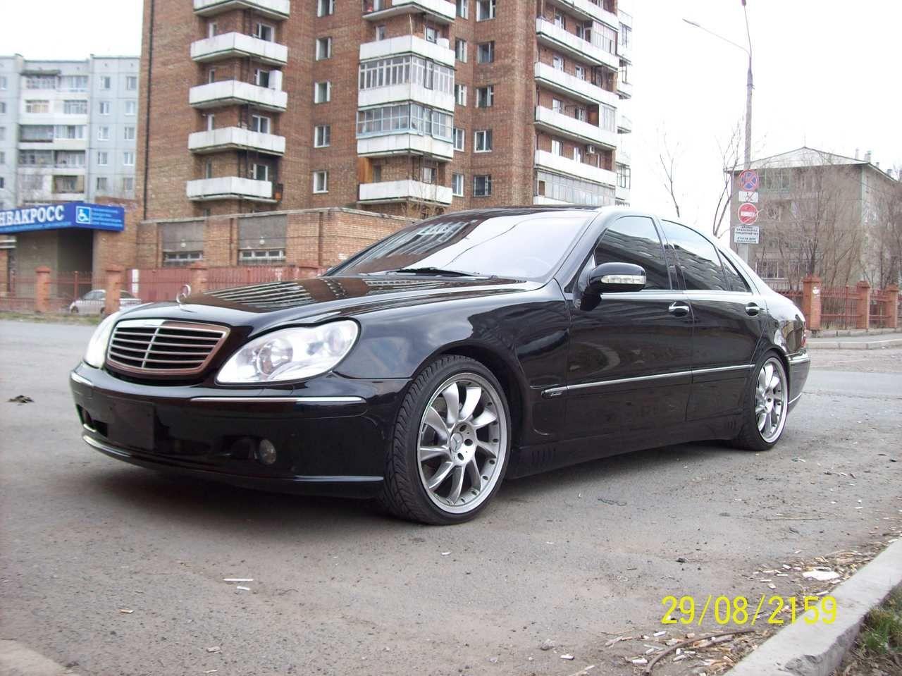 2003 Mercedes Benz S Class (W220) Benz s class, Benz s, Benz