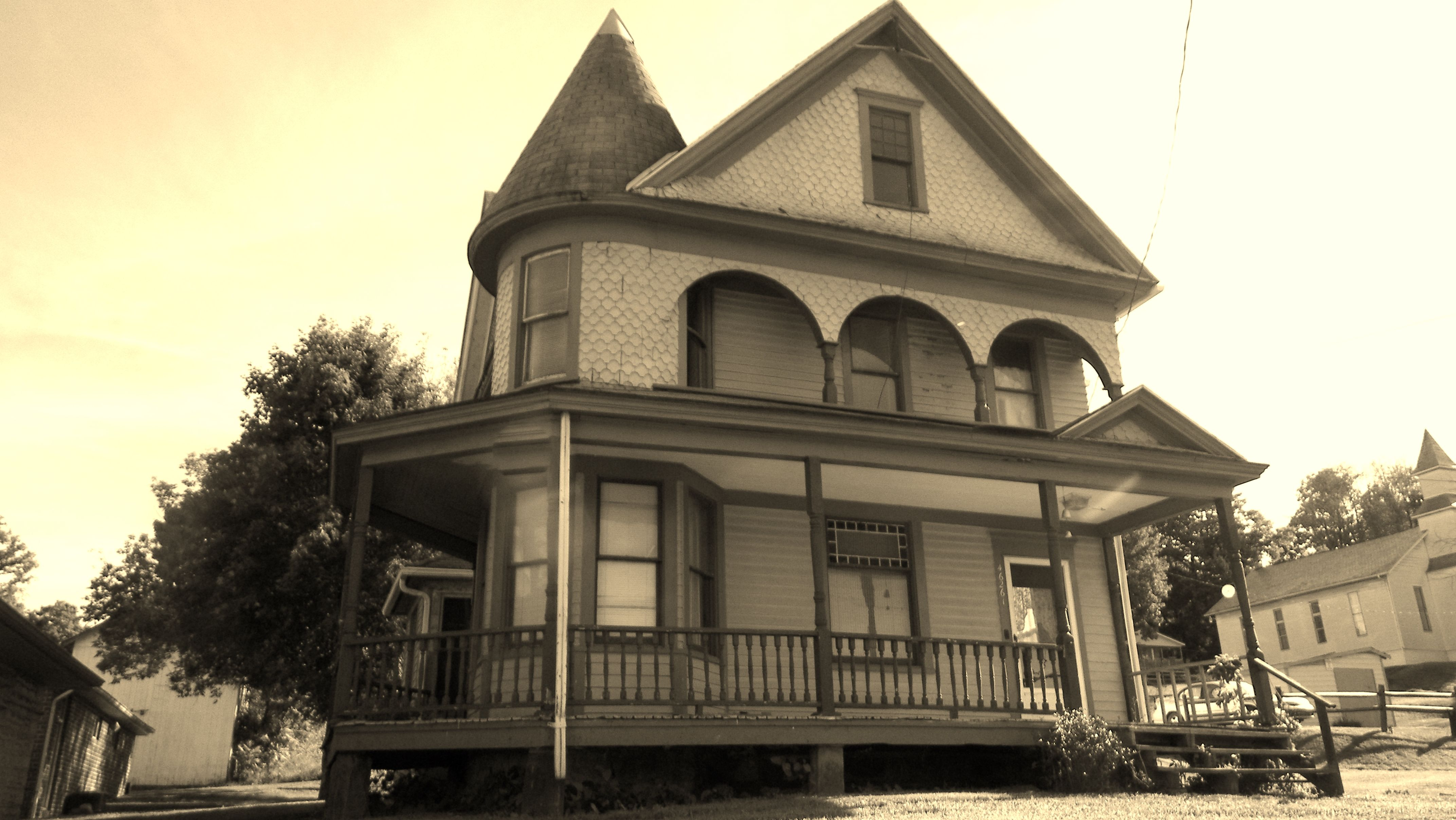 Ohio columbiana county rogers - This Is A House In Rogers Ohio Built In 1895 The Attic And