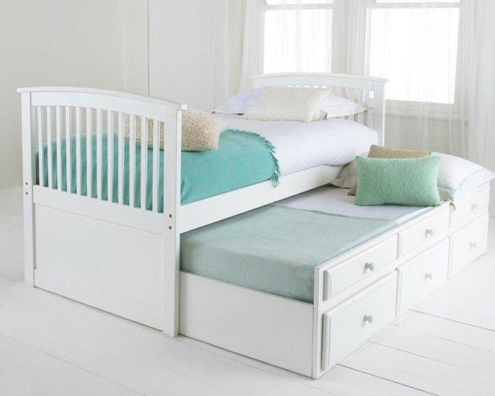 Billig Bett Mit Gastebett Con Imagenes Dormitorios Compartidos