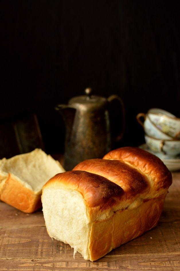 Hokkaido Milk Bread Soft Fluffy Bread Made With Tangzhong