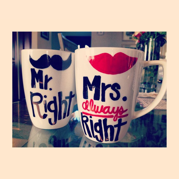 Wedding Gift For Those Who Have Everything: Mugs, Dyi Gifts, Cute Crafts