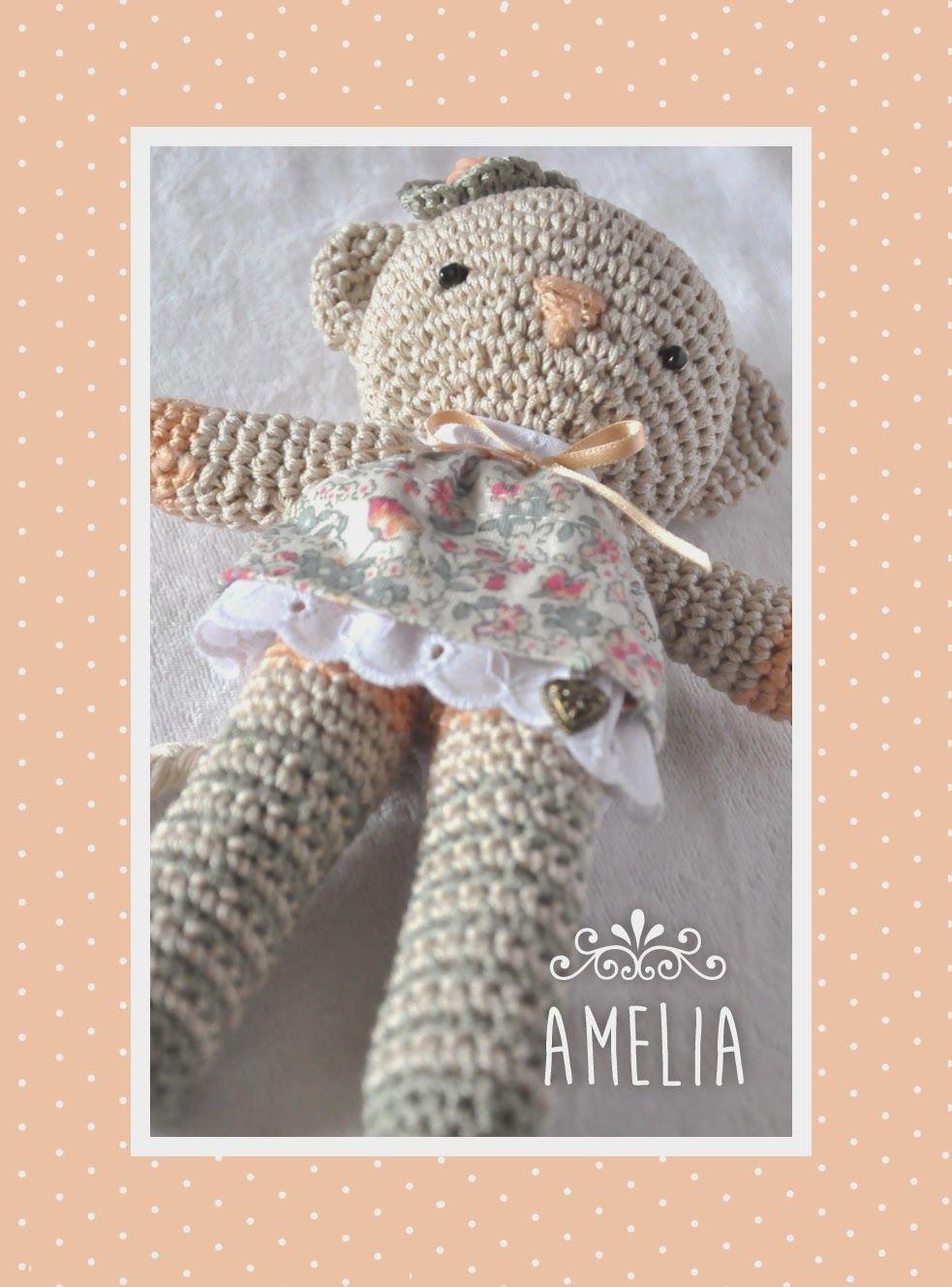 Chica outlet: Gatita Amelia | Crochet | Pinterest | Blog, Sobres y ...