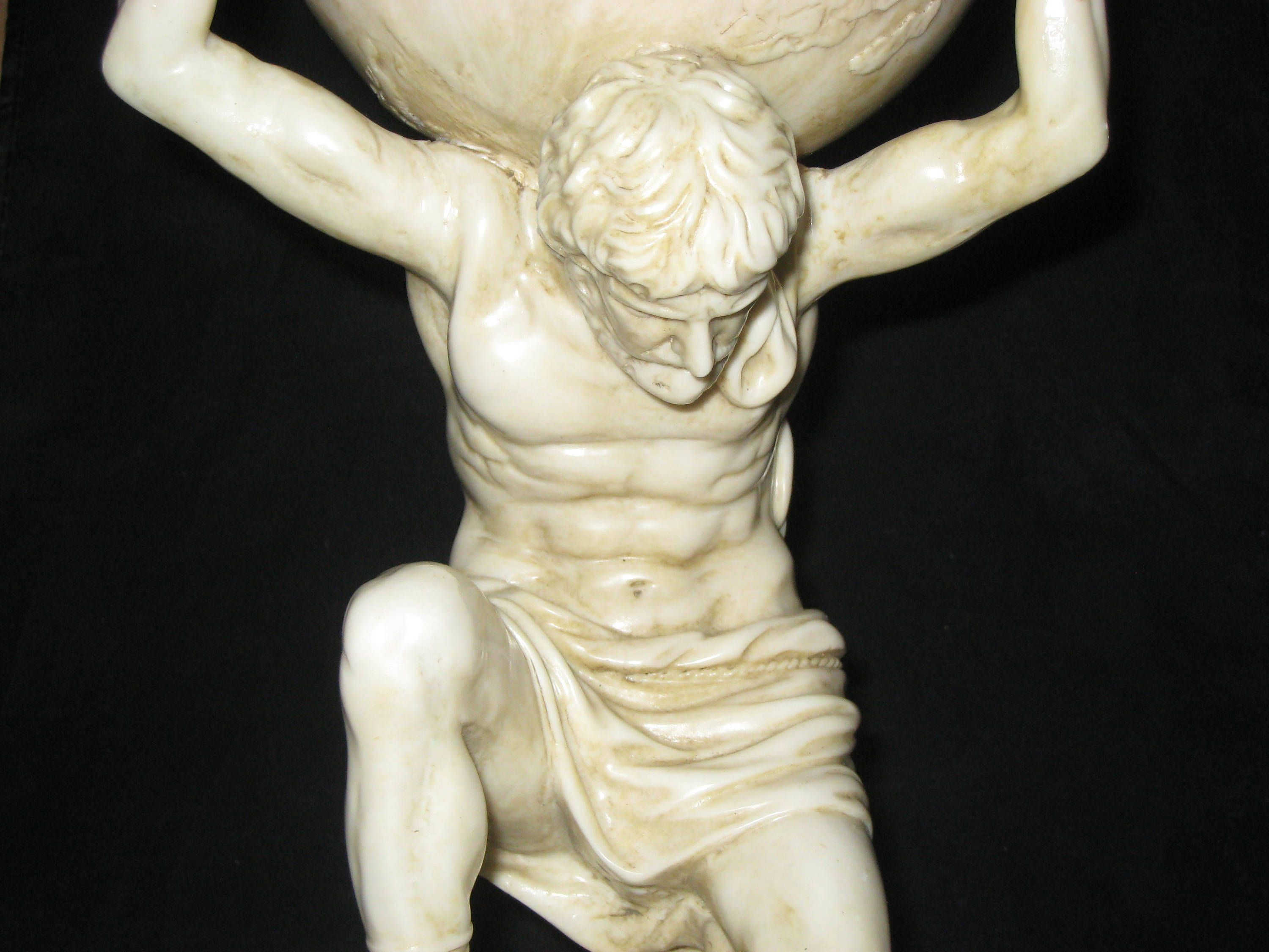 Atlas Statues For Sale Greek Atlas Statue Vintage Resin Atlas Statue Mythical