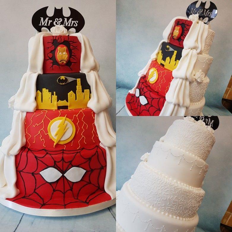 Superhero wedding cake   Wedding cakes   Pinterest   Superhero ...