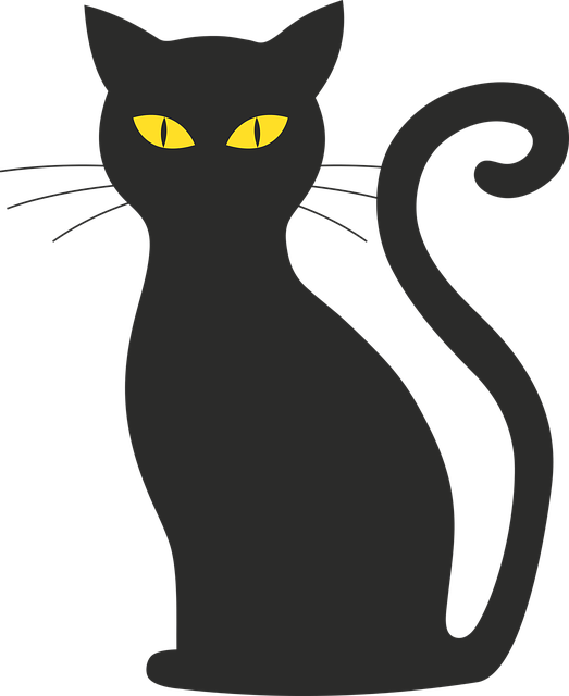 Free Image On Pixabay Cat Halloween Silhouette Mieze