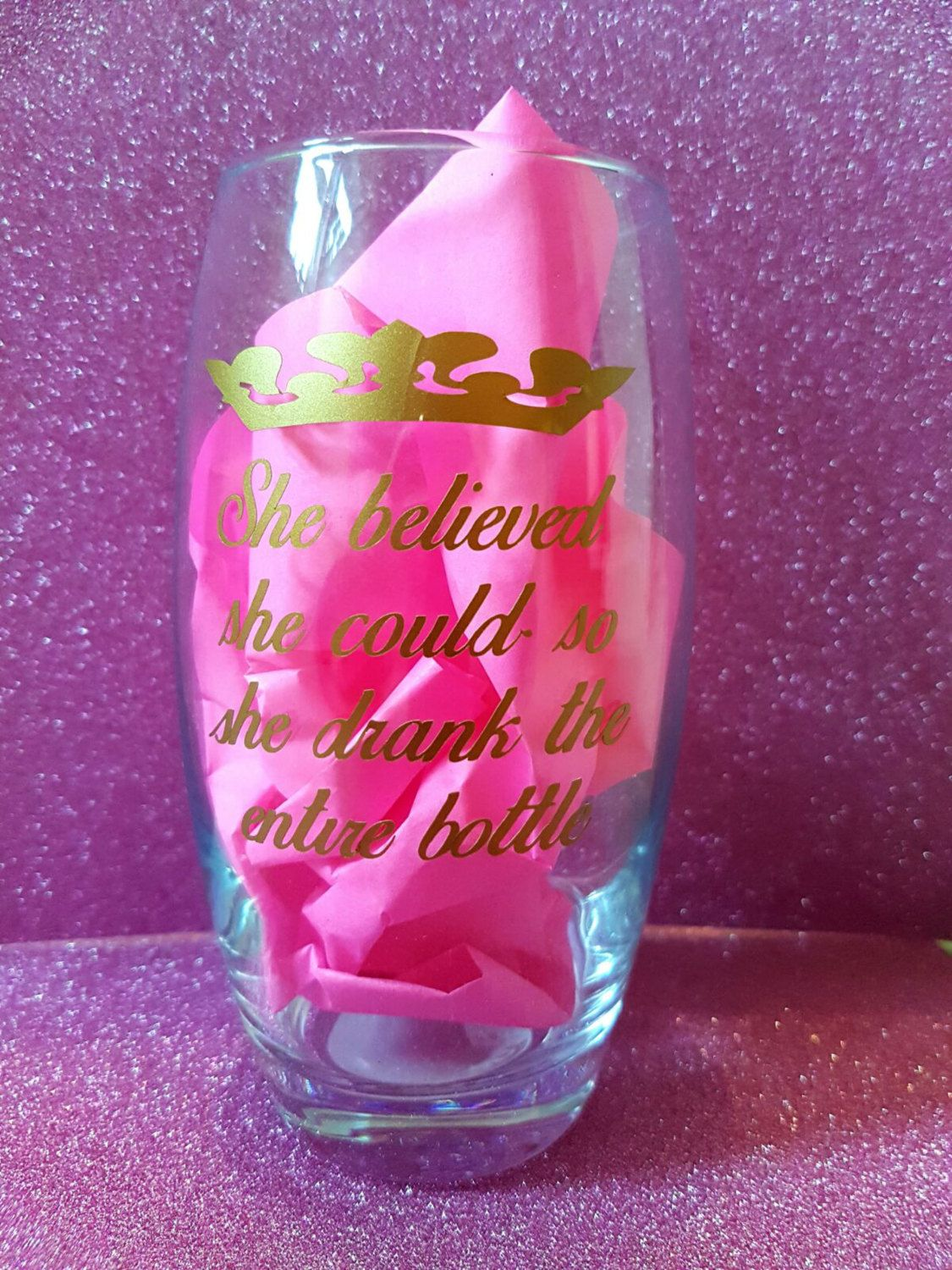 Wine glass funny quotes mom Mother's Day super power family gift novinophopia novelty wedding Christmas valentines gifts handmade by LoveartsGifts on Etsy