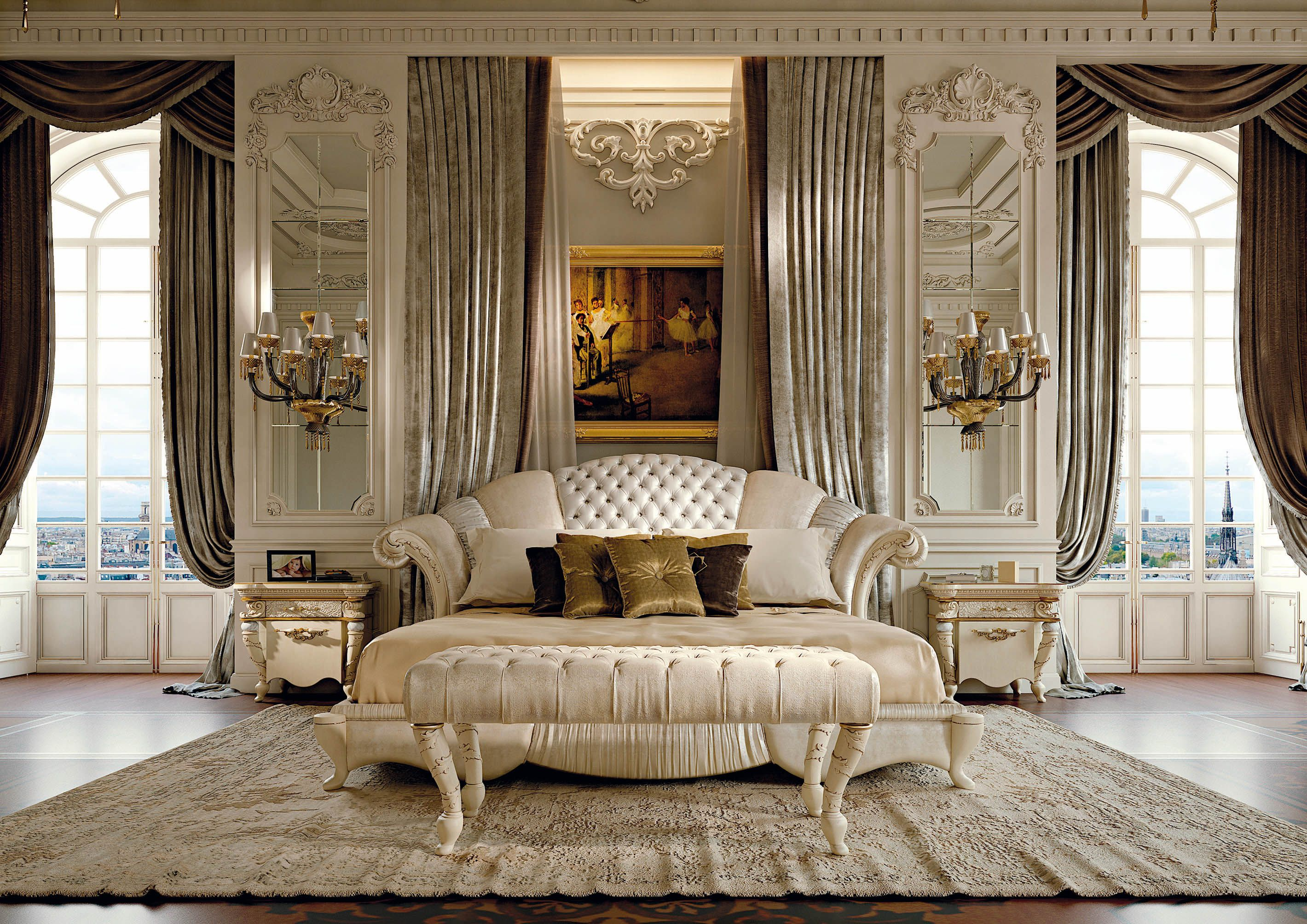Classic Luxury Bedroom Furniture