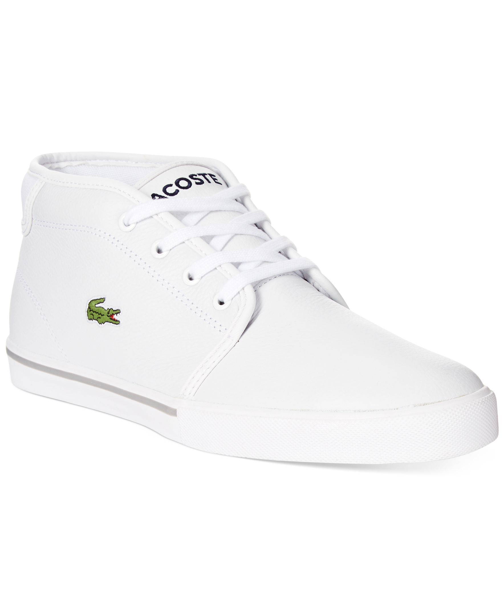 9717fc93e Lacoste Ampthill Lcr Mid Sneakers