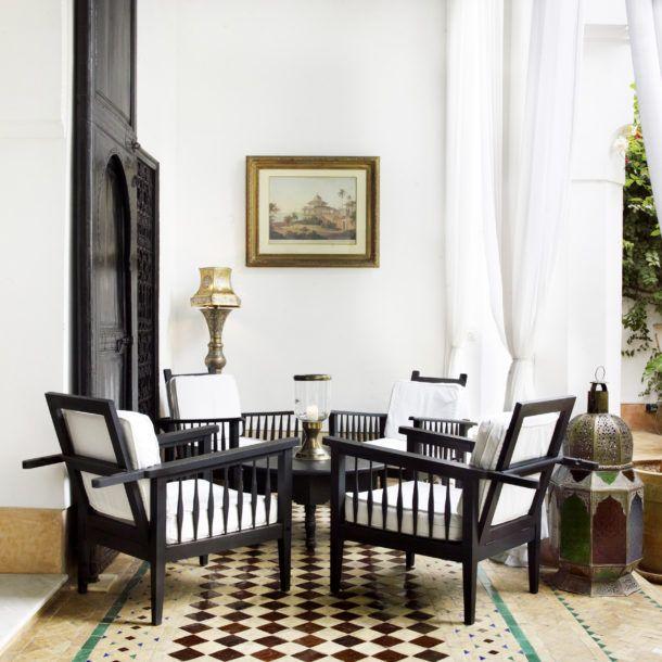 L hotel marrakech is a luxury hotel by jasper conran set for Decore hotel jasper