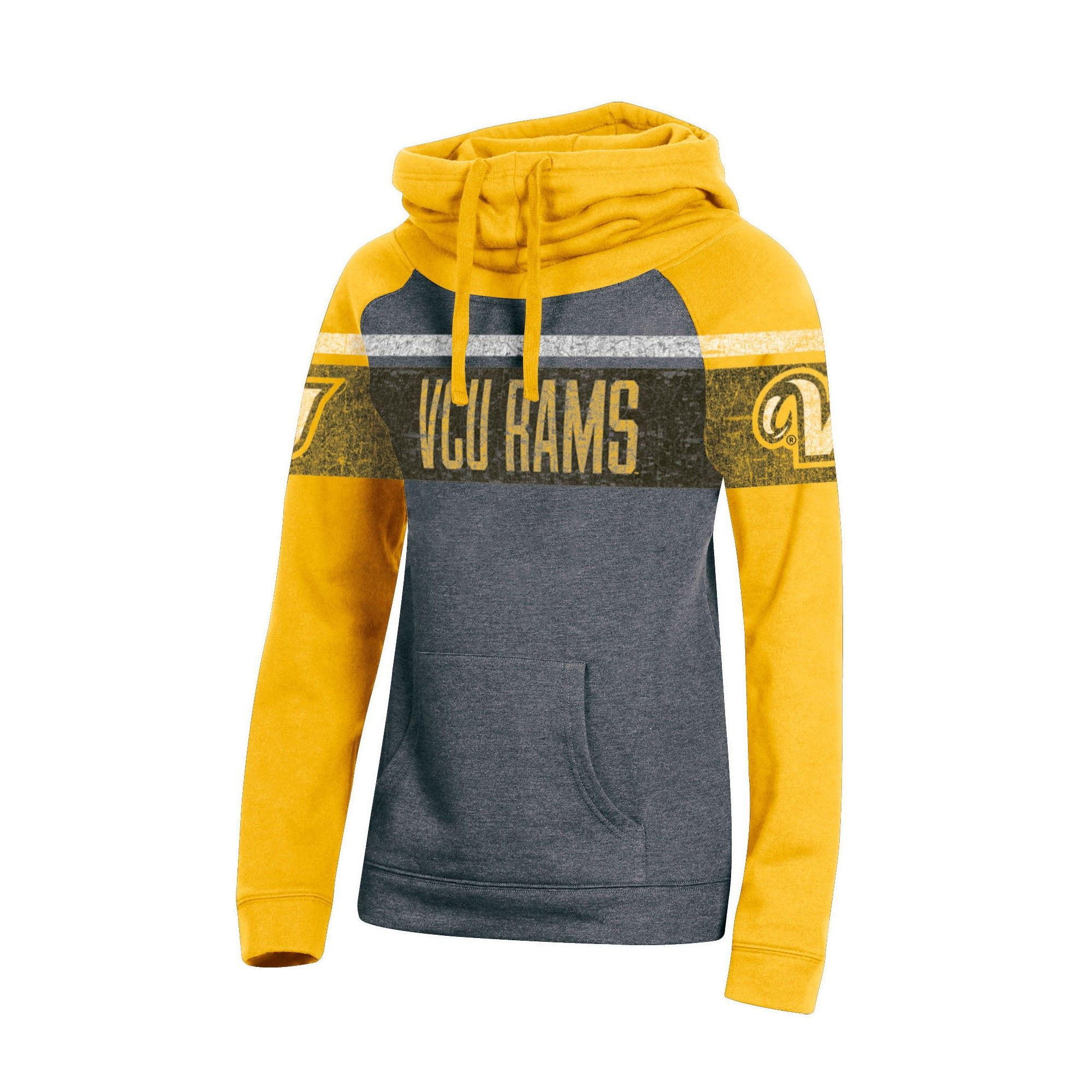 83f16b6d Vcu Rams Women's Cowl Neck Hoodie - XL, Multicolored | Products ...