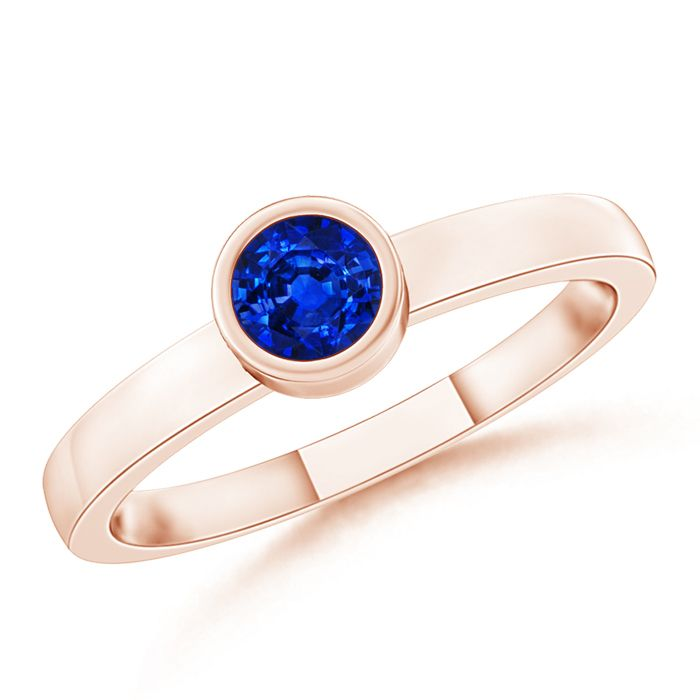 Angara Solitaire Sapphire Heart Promise Ring in 14K Yellow Gold iiAqh1j