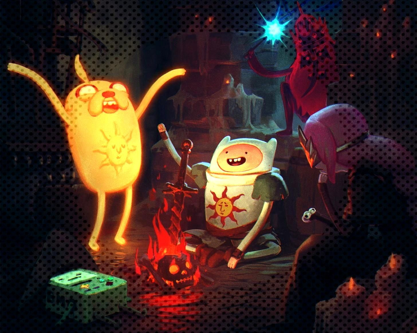 Show Wallpapers 040 Adventure Time, Game of Thrones, Luke Cage, Star Wars Rebels, Stranger Things,