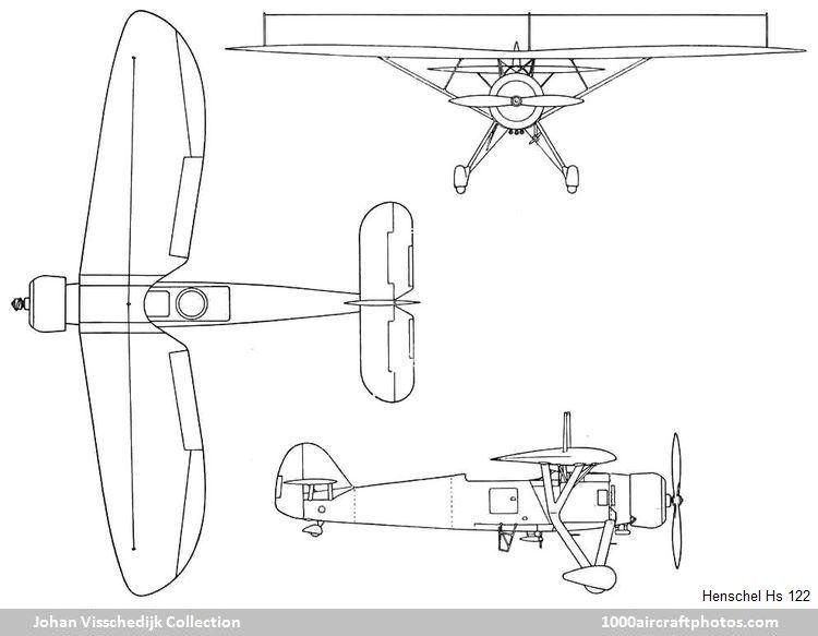 Henschel Hs 122_3-viewjpg (750×583) Blueprint Pinterest Planes - fresh blueprint paper name