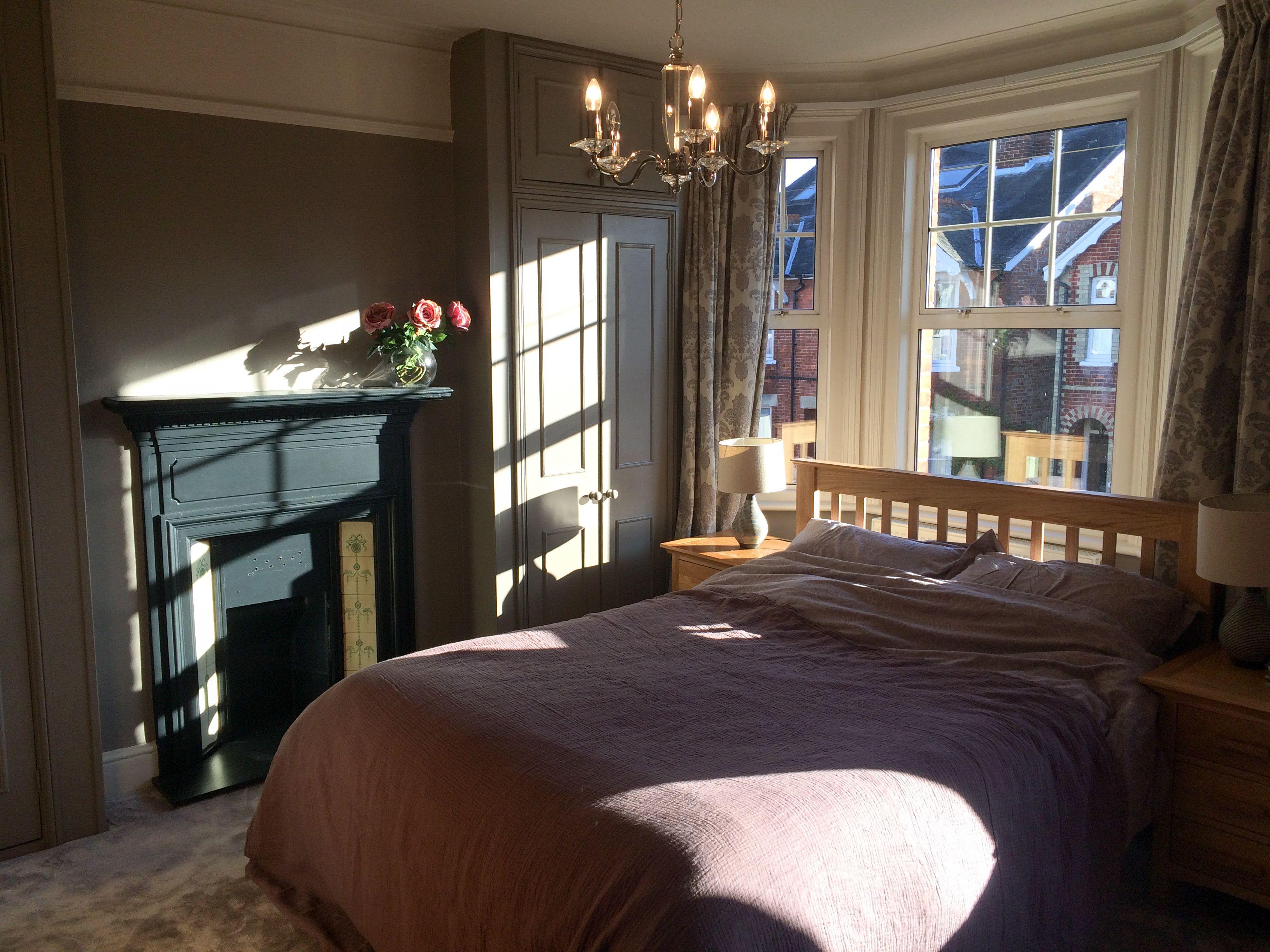 Bedroom walls farrow ball charleston grey farrow and - Farrow and ball decoration ...