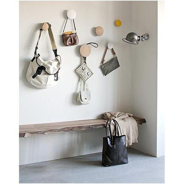 Patere design en bois the dots Muuto lot de 5 entrée Pinterest