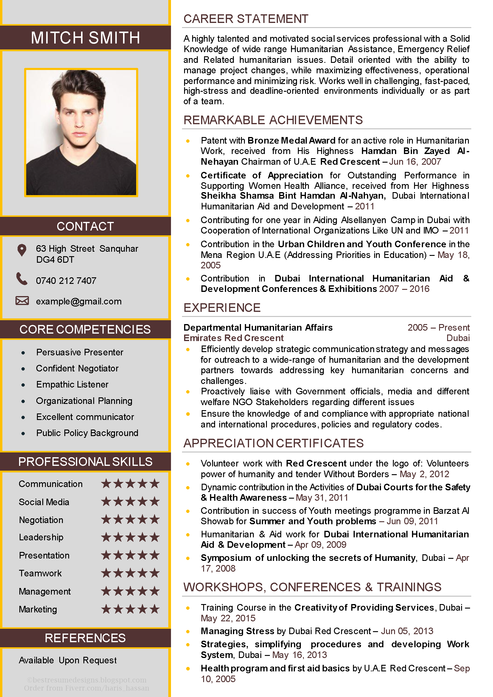 Cv Design No 21 Best Resume Template Cv Resume Template Resume Templates