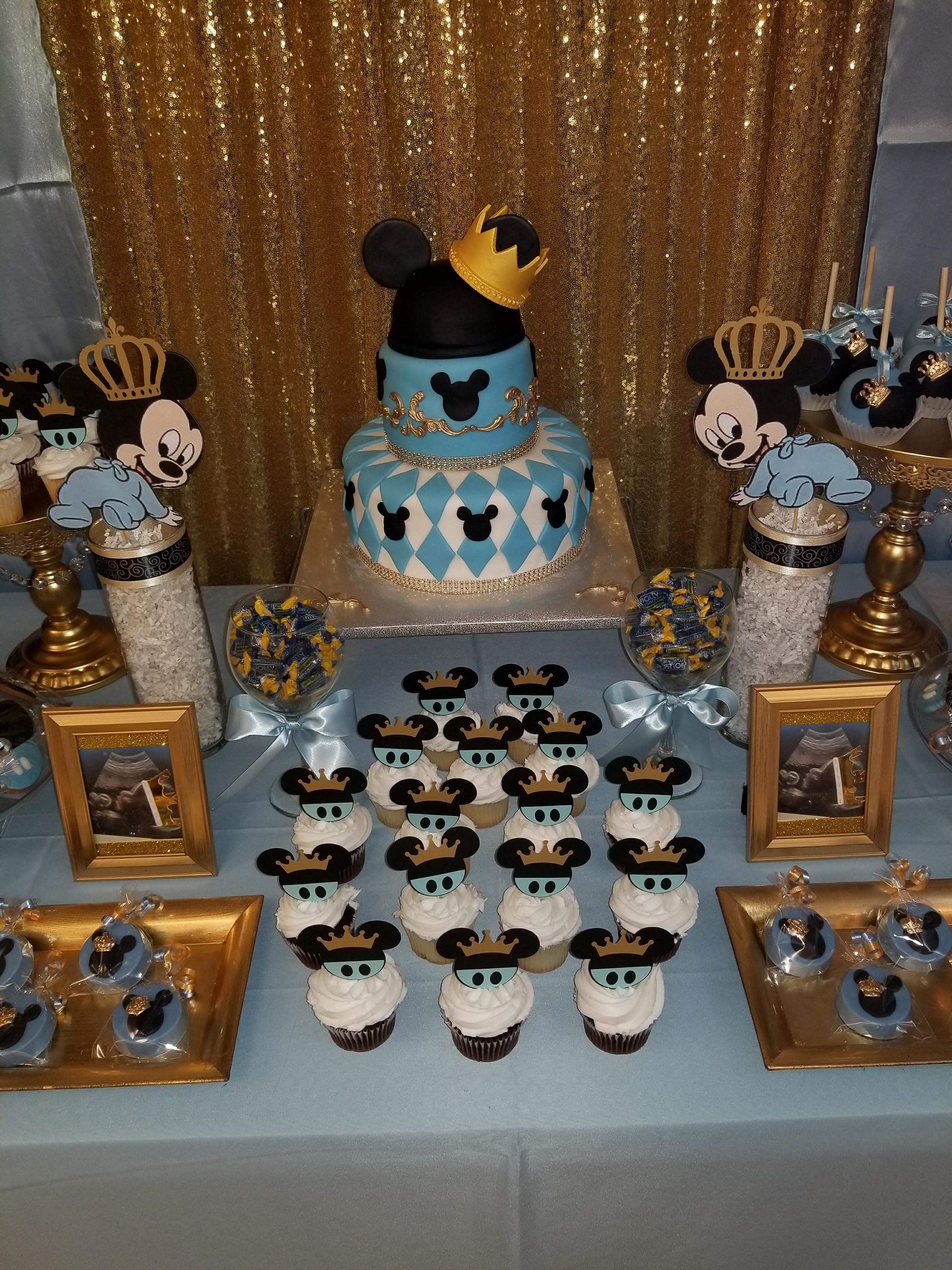 Pin By Sherlene Orelus On Prince Mickey Mouse Baby Shower