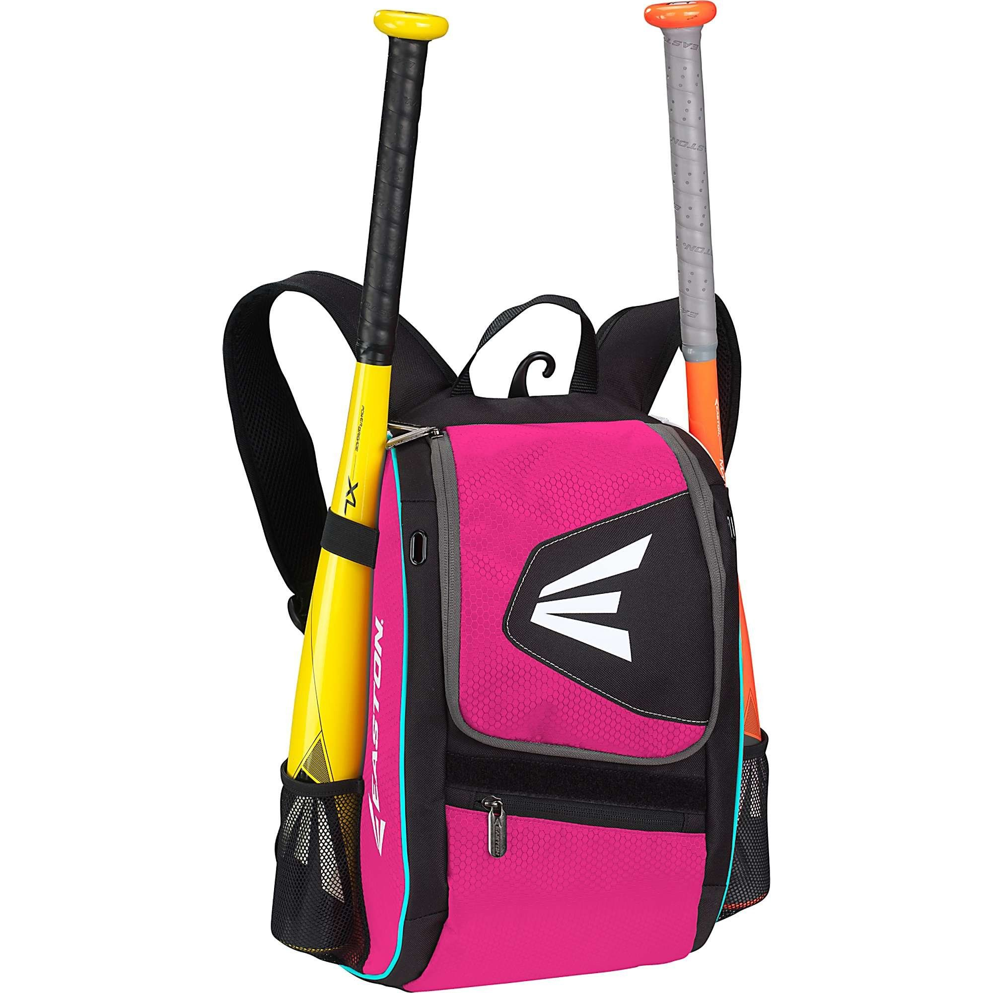Easton E100P Bat Pack, Black/Pink Softball bags