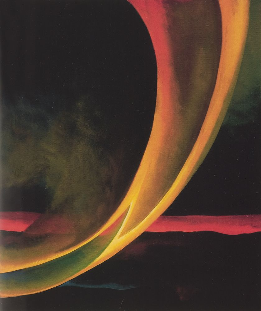 Georgia O'Keeffe, Orange and Red Streak, 1919