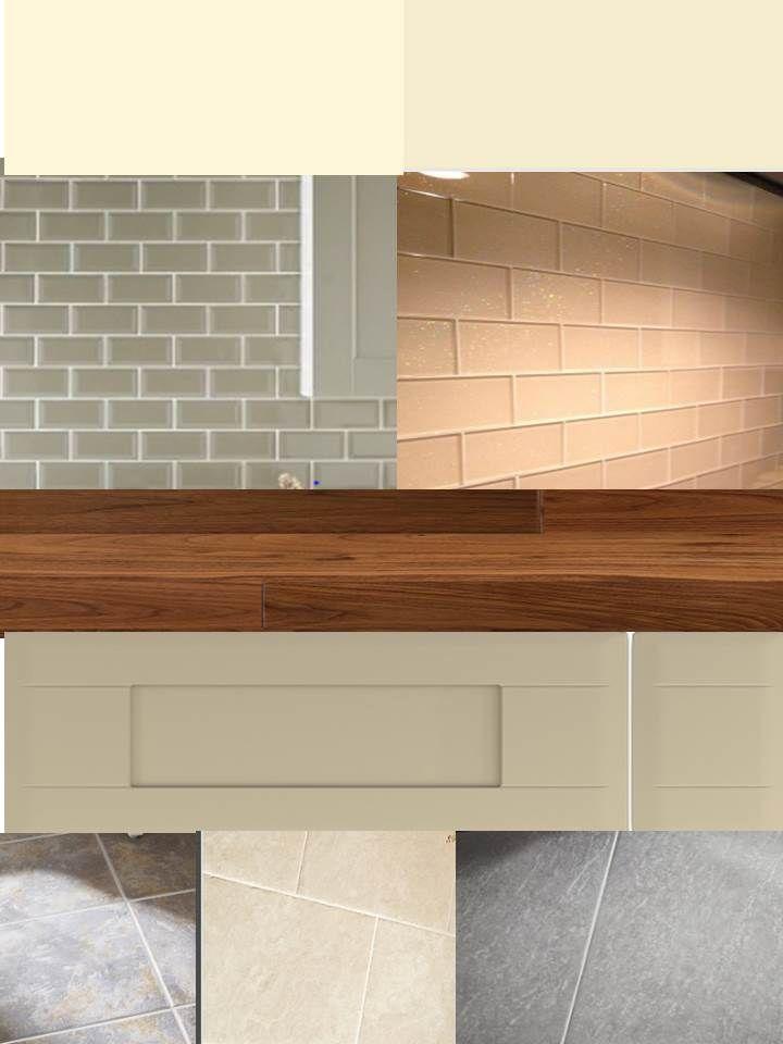 Kitchen Tiles Colour Combination potential kitchen colour scheme v1 dakar units, walnut worktop