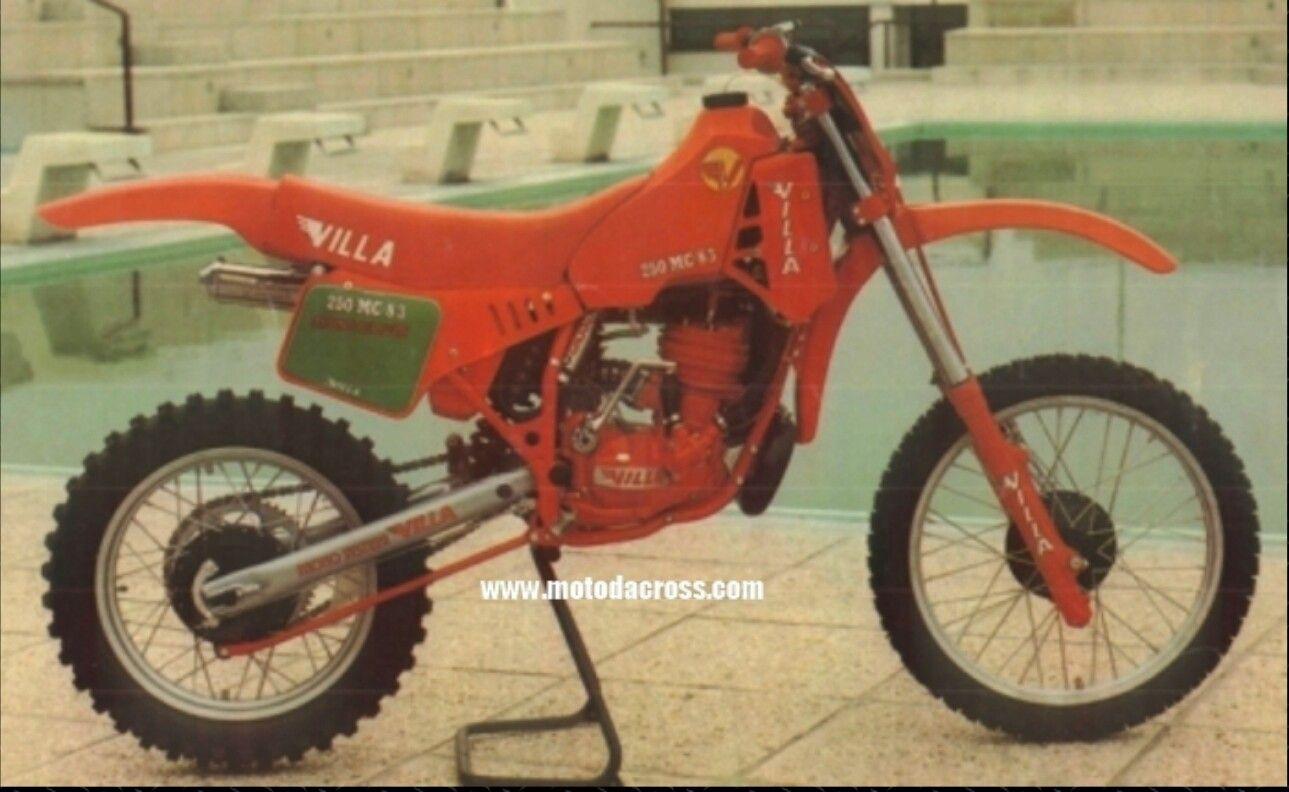 Moto Villa 250 Mca 1983 Vintage motocross, Motocross