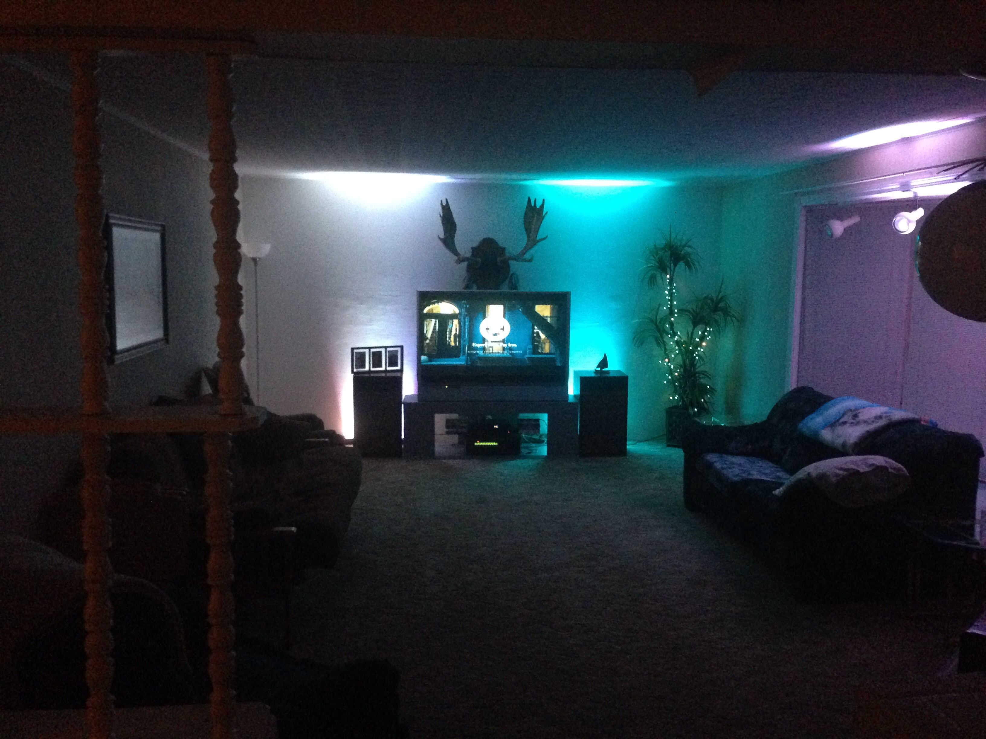 Uplighting In Living Room House