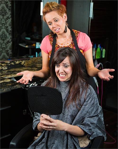Image result for annoying hairdresser