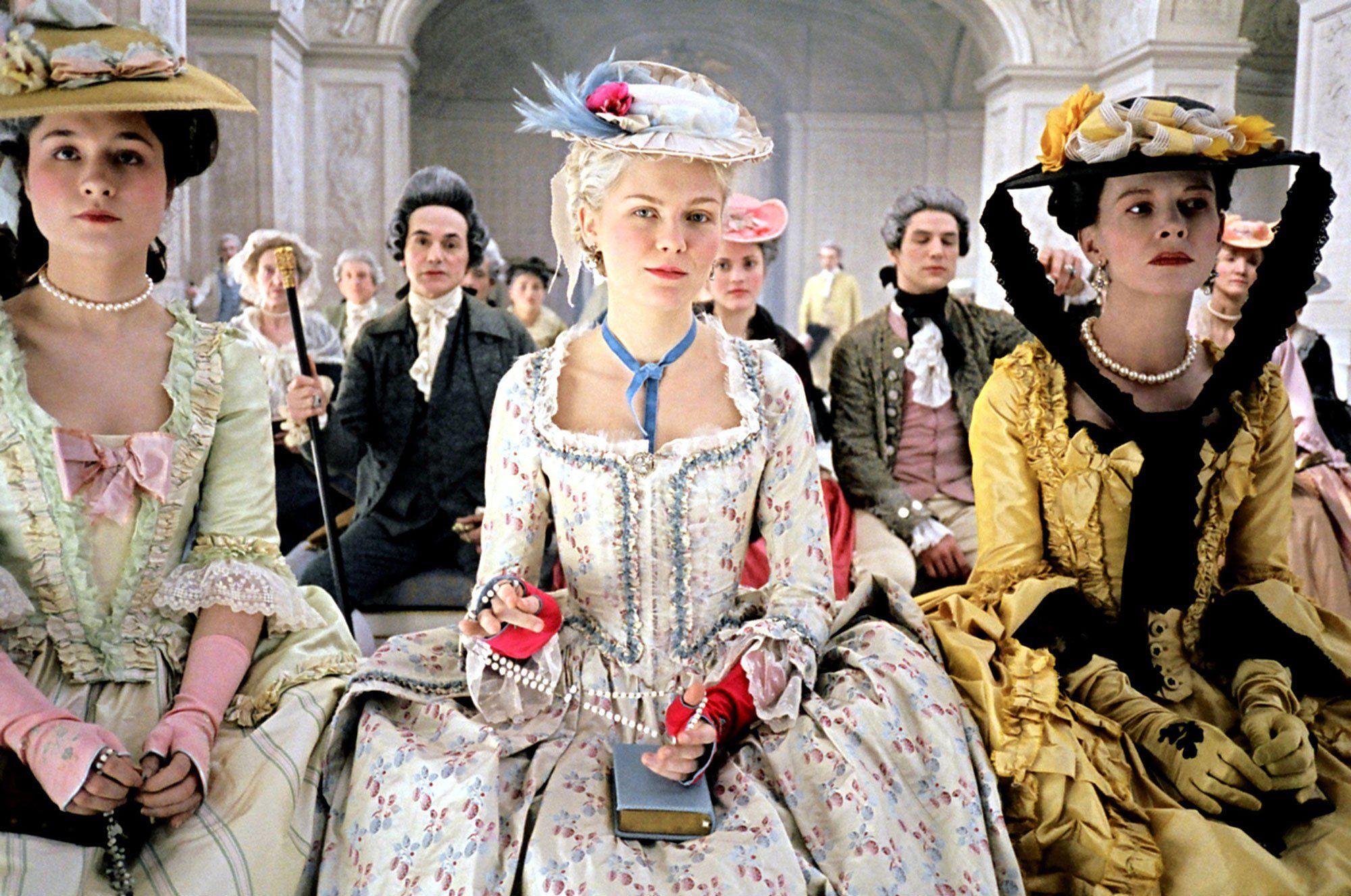 Marie Antoinette, 2006 - Milena Canonero's sumptuous gowns for Sofia Coppola's Marie Antoinette won her the 2006 prize.