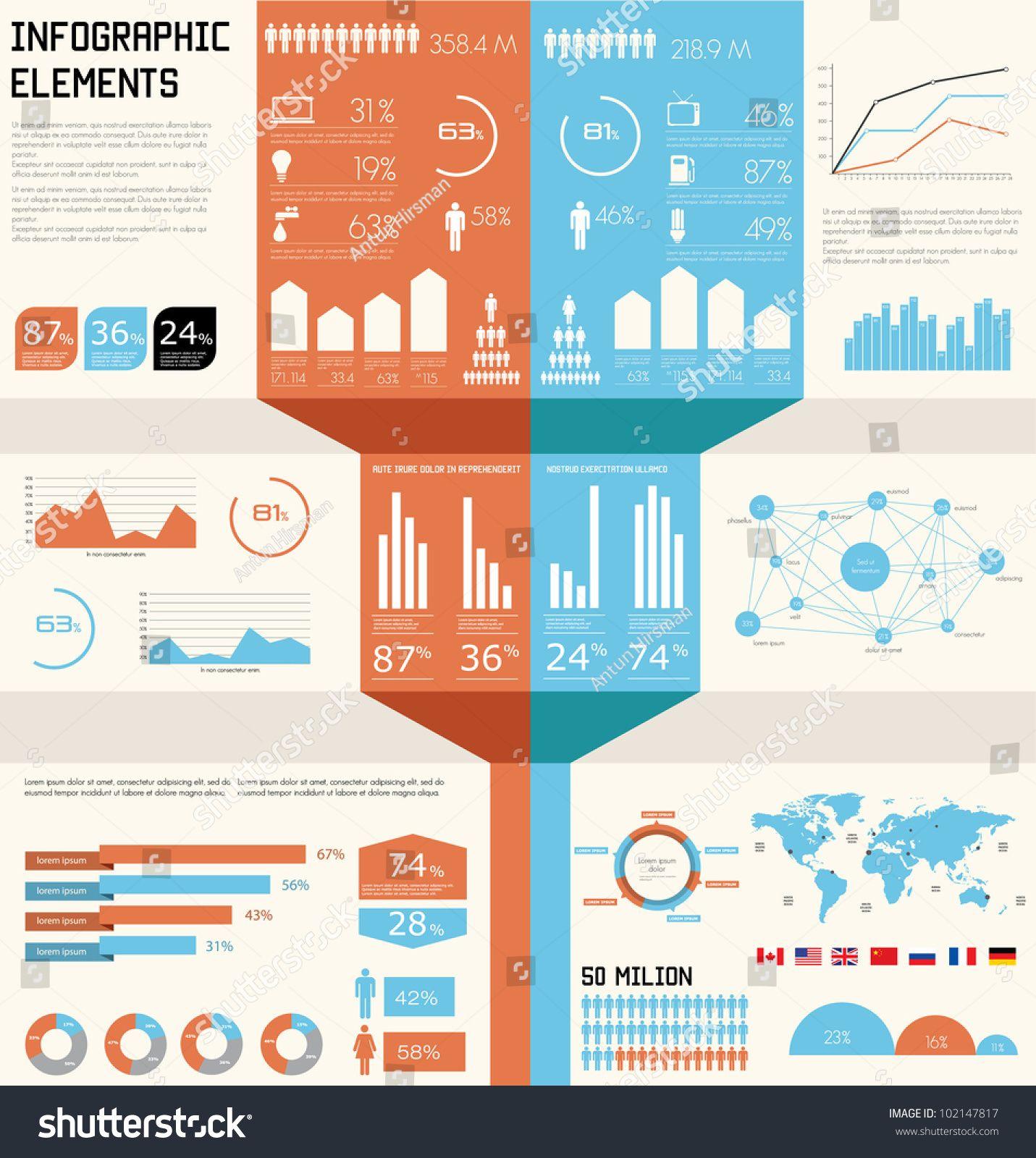 Vintage infographics set world map and information graphics 2018 vintage infographics set world map and information graphics gumiabroncs Gallery