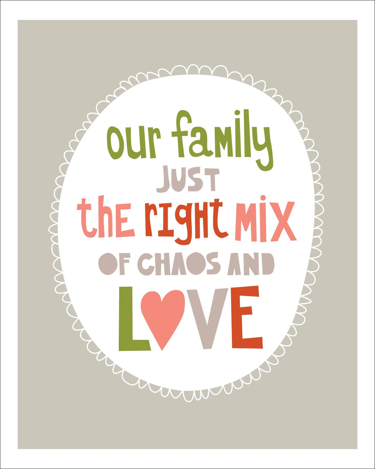 Happy Love Quotes About Family