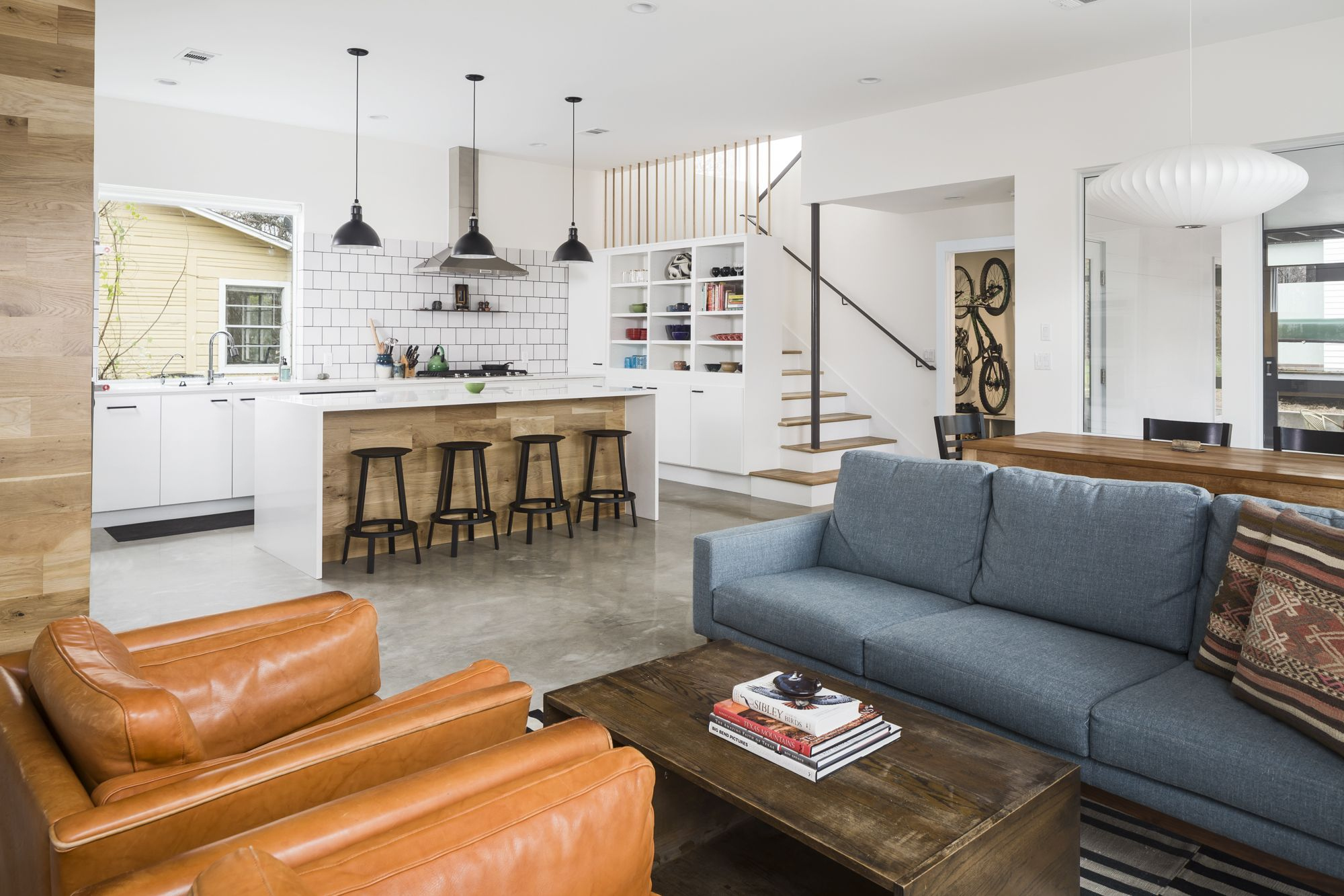 In Central Austin, a modern home merges brains and beauty - Curbed Austinclockmenumore-arrow : When the Butler family couldn't make their house work, they built a new one