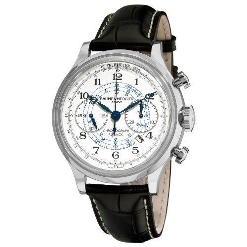 Baume & Mercier Men's 10006 Capeland Chronograph Silver Chronograph Dial Watch Baume & Mercier,http://www.amazon.com/dp/B005O0R4I2/ref=cm_sw_r_pi_dp_3j9isb0CMPYF1396